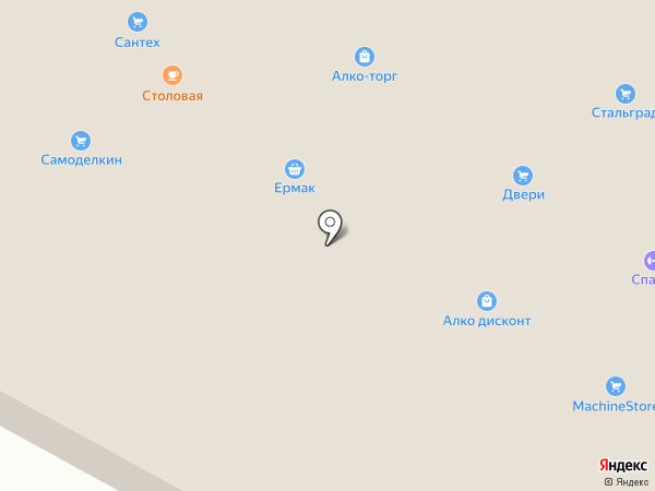 Сантехмаркет на карте Читы