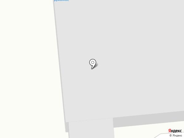 Джамос на карте Читы