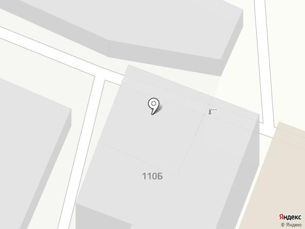 Гаражный кооператив №88 на карте Читы