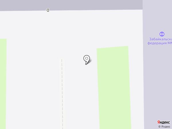 Средняя общеобразовательная школа №27 на карте Читы