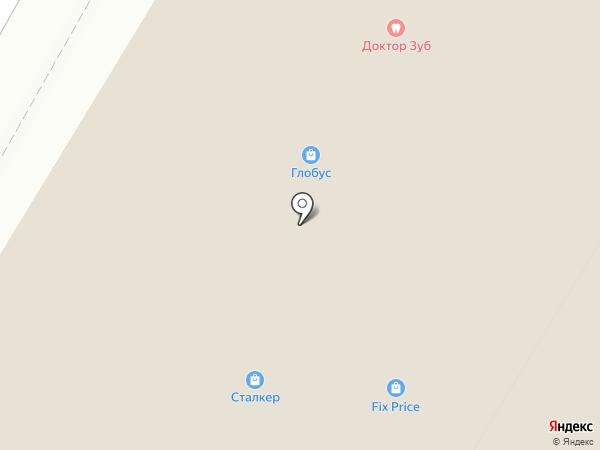 Аист на карте Читы