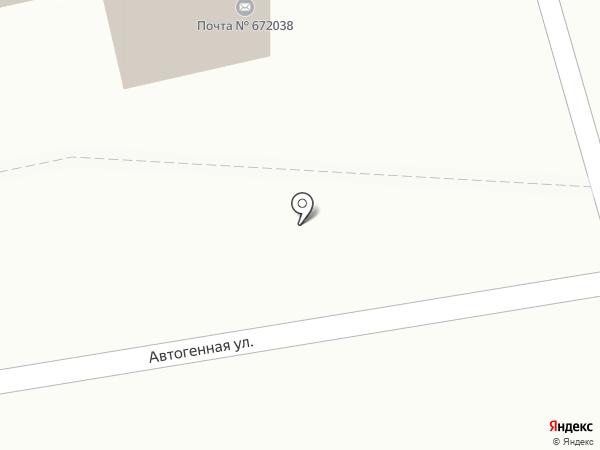 Почтовое отделение №38 на карте Читы