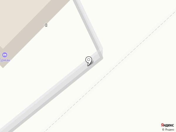 Ермак на карте Читы