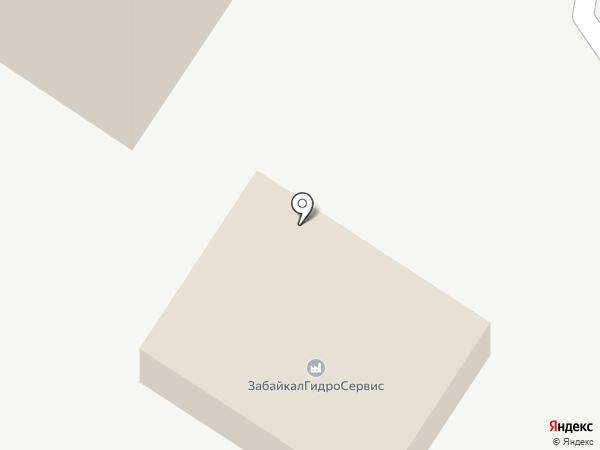 ЗабайкалГидроСервис на карте Читы