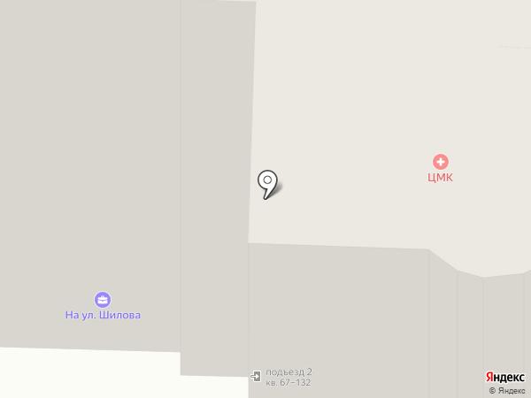 Лапушка на карте Читы