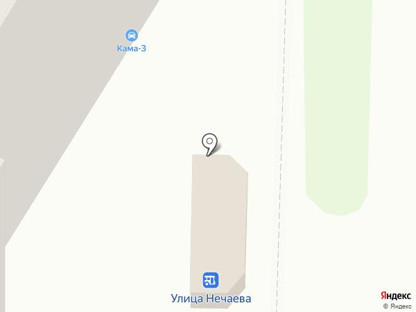Кама-3 на карте Читы