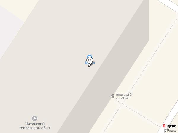 Janita на карте Читы