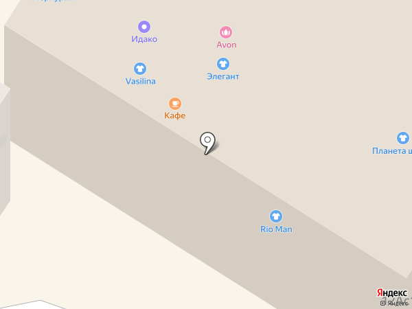 Софи на карте Читы