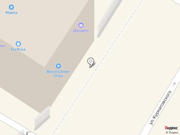 Магазин светотехники на карте Читы