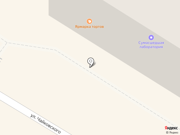 КосПар на карте Читы