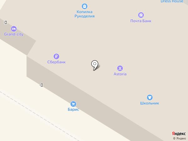 Grand-City на карте Читы