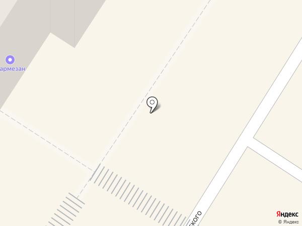 Метелица на карте Читы