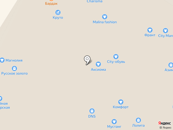 Бардак на карте Читы