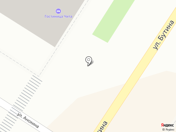 ХэСе на карте Читы