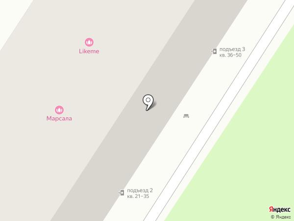 Марсала на карте Читы