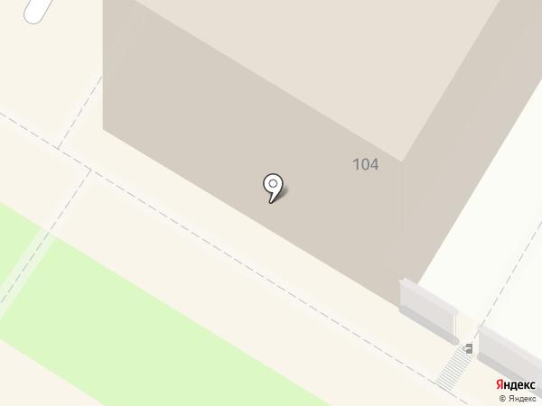 Полутовская на карте Читы