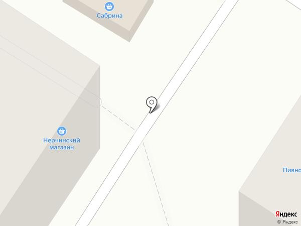Сабрина на карте Читы
