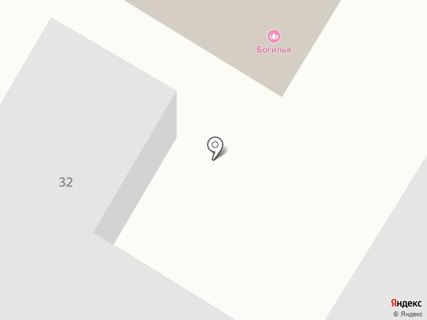 Богилья на карте Читы