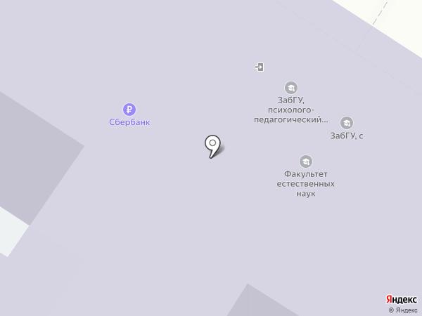 Студия моды на карте Читы
