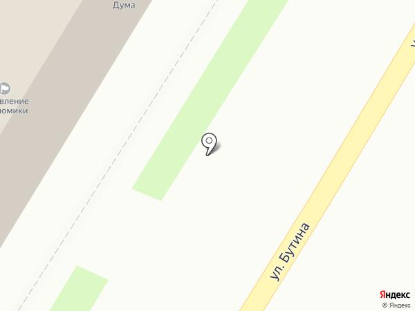 Дума городского округа г. Чита на карте Читы