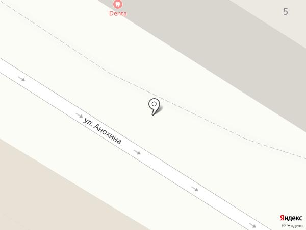 ДЕНТА на карте Читы