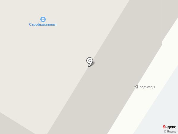 Альком на карте Читы