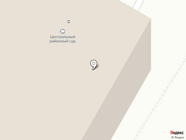 Центральный районный суд г. Читы Забайкальского края на карте Читы