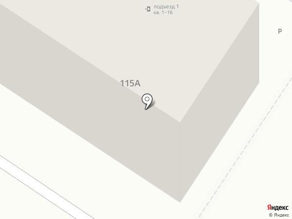 Веретено на карте Читы