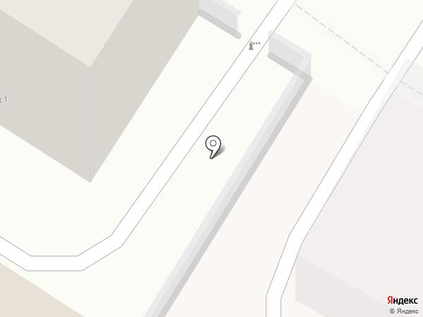 Бирюса на карте Читы