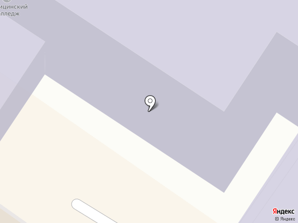 Читинский медицинский колледж на карте Читы