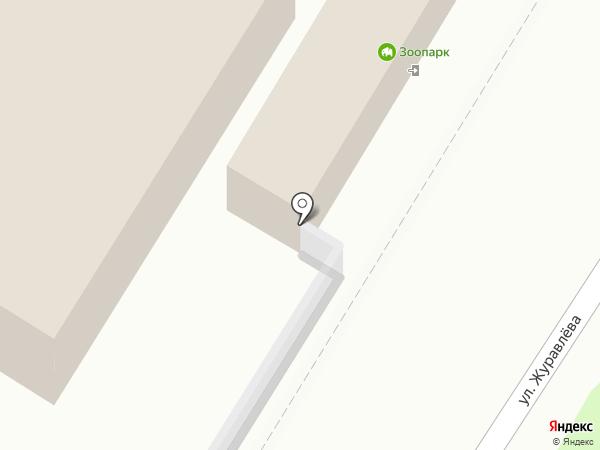 Читинский городской зоопарк на карте Читы