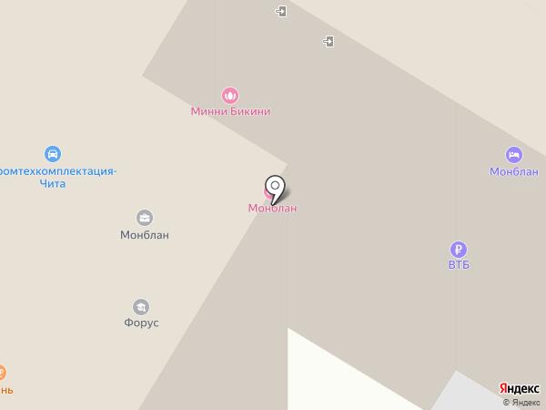Забайкальский горно-технический центр, АНО на карте Читы