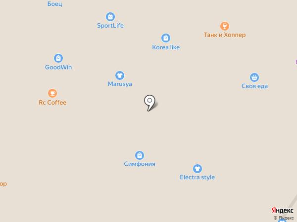 Фрэш Букет на карте Читы