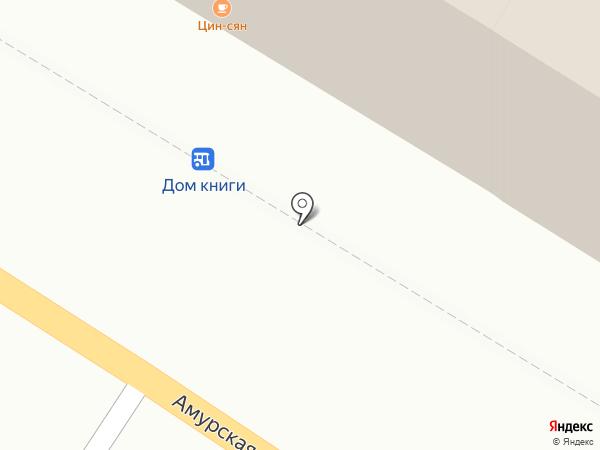 Цин-Сян на карте Читы