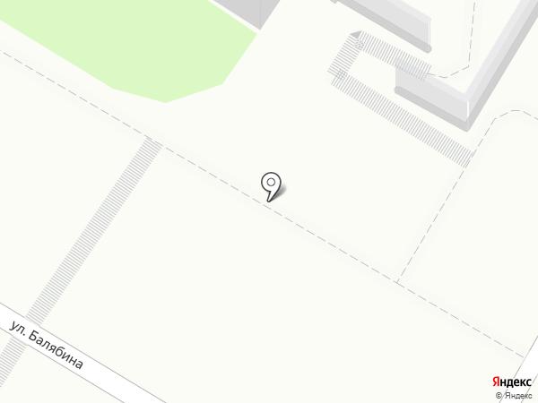 Магазин мясной продукции на карте Читы
