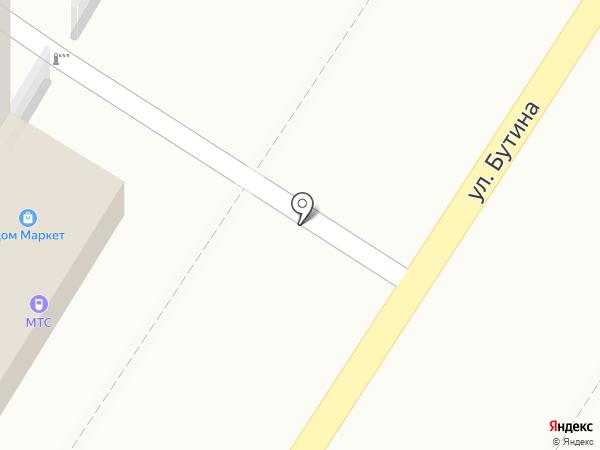 Инфанта на карте Читы