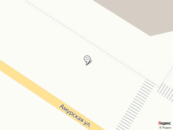КонтактИнвест на карте Читы