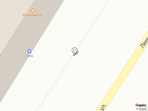 Калинка-Малинка на карте Читы