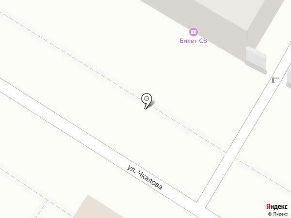 Serebro на карте Читы