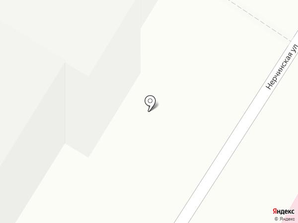 Читинский институт на карте Читы