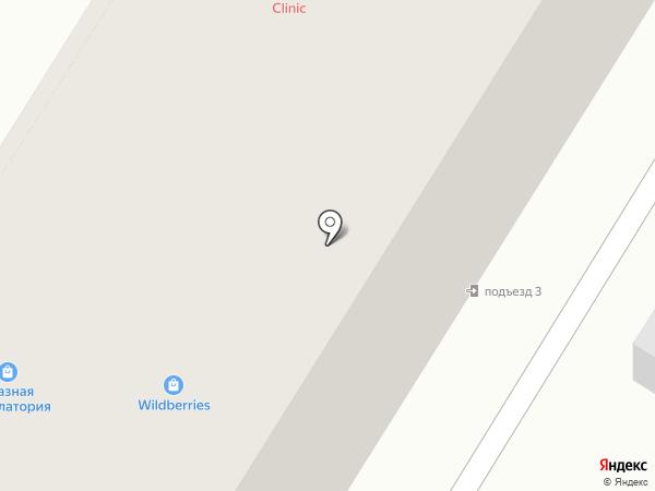 Глазная амбулатория на карте Читы