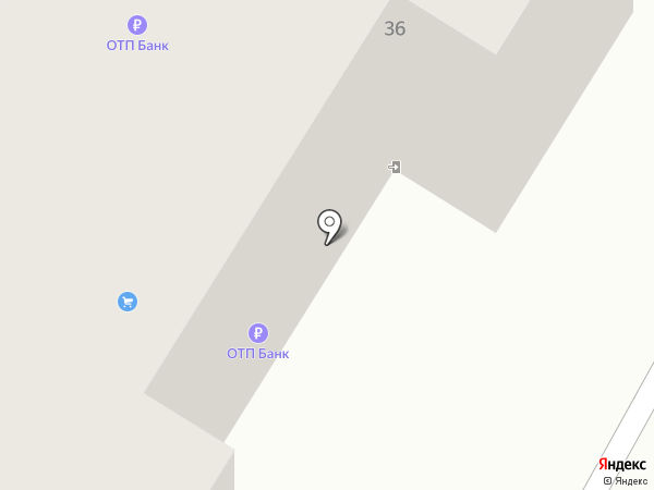Банкомат, ОТП банк на карте Читы
