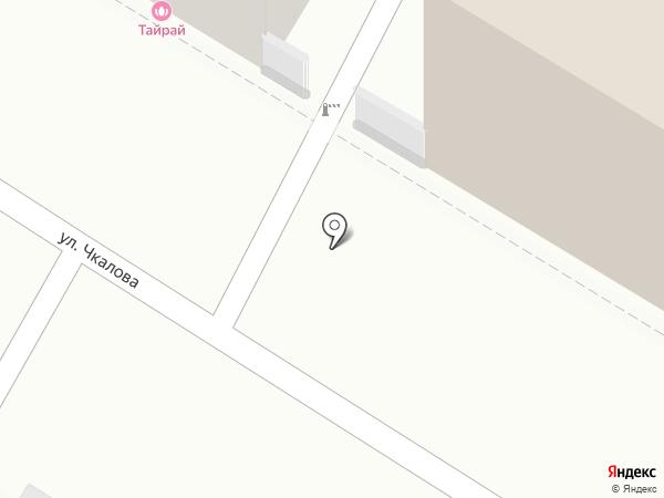 ТАЙРАЙ на карте Читы