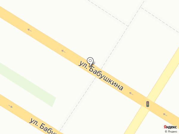 Магазин фруктов и овощей на карте Читы
