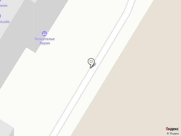 Экран на карте Читы