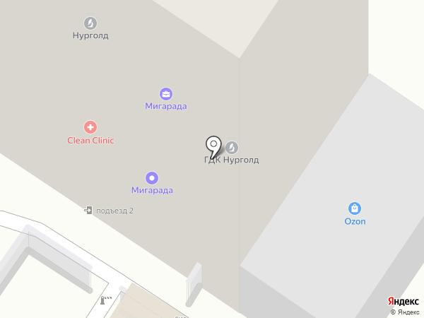 Судэкс-Чита, АНО на карте Читы