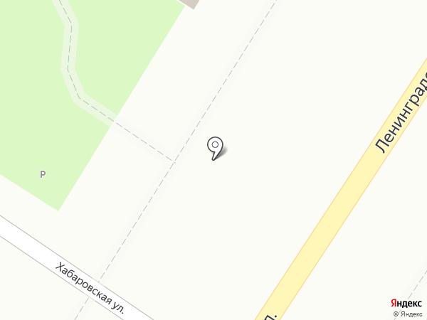Людмила на карте Читы