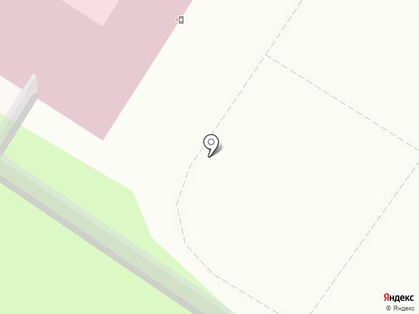Поликлиническое подразделение №1 на карте Читы