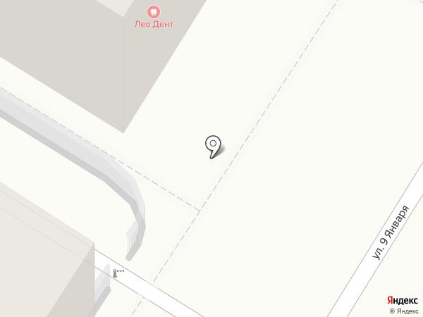 ЛеоДент на карте Читы