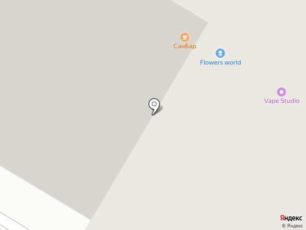 Барсан на карте Читы